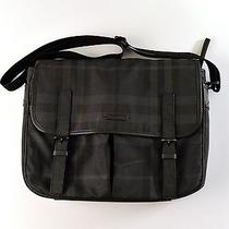 Burberry Laptop Bag Dark Check Photo