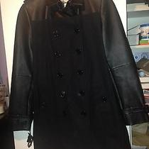 Burberry Leather Jacket Photo