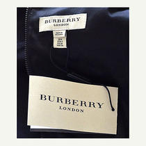 Burberry Leather Sleeve Dress Photo