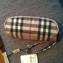 Burberry Limited Edition Folding Pocket Umbrella Nova Check Plaid New With Tag  Photo