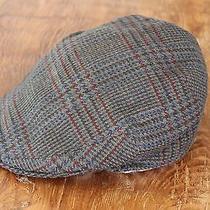 Burberry London Classic Newsboy Hat Cap 100% Wool Rare Christy's London Hats Photo