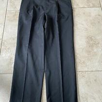 Burberry London Mens Dress Pants Size 36 Us  Made in Italy Black Photo