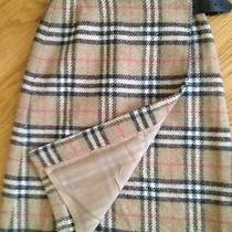 Burberry London Nova Check Pure Wool Kilt Photo