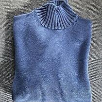 Burberry London Turtlenck Sweater 100% Merino Wool Size 38 Photo