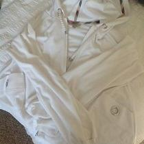 Burberry London White Terry Cloth Hoody (M) Photo