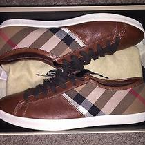 Burberry Men's 'Vintage Check Low Top' Sneaker (Size 8.5) Vnds Photo