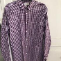 Burberry Mens Plaid Multi-Color Longsleeve Shirt Size L 180/100a Photo