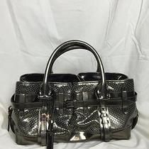 Burberry Metallic Silver Handbag Photo