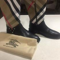 Burberry Mid-Calf Boots Size 38 Nwb Photo