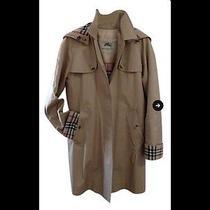 Burberry Mid-Length Cotton Poplin Trench Coat Photo