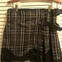 Burberry Nova Check Kilt Skirt Size Small  Photo