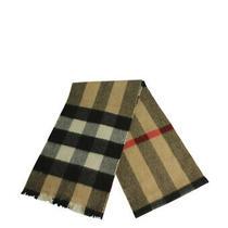 Burberry Nova Check Wool Beige Cashmere Scarf Photo