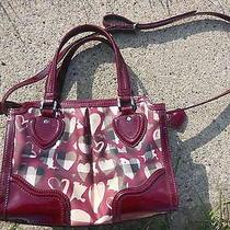 Burberry Nova Painted Heart Pilgrim Bag Photo