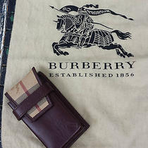 Burberry Novacheck Leather Cell Case Camera  Sleeve & Dustcover Photo