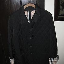 Burberry Nwot Black Barn Jacket Xl Photo