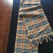 Burberry Original Cashmere Scarf Photo