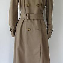 Burberry Original Khaki Trench Coat  Photo