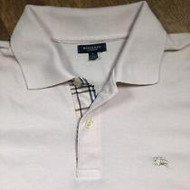 Burberry Polo Shirt Size L in Blush / Ivory / Off-White Color Photo