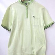 Burberry Polo Shirt Yellow-Green/l Men's T-Shirt N0225 Photo
