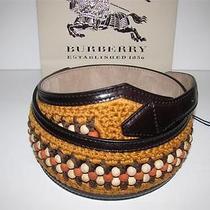 Burberry Prorsum Beaded Crochet Corset Belt 28