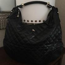 Burberry Prorsum Black Quilted Leather  Hoxton Hobo Size Xl Made in Italy 1399 Photo