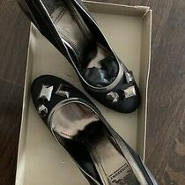 Burberry Pumps Heels Shoes 3' Inch Size 38/ 7.5 Photo