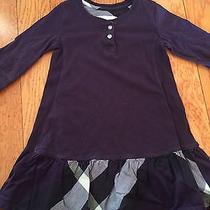 Burberry Purple Girls Dress Photo