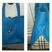 Burberry Purse Aqua Blue Photo