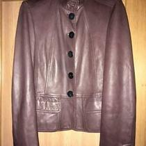 Burberry Real Leather Jacket With Lining Made in Italy Photo