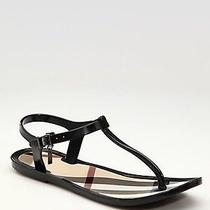Burberry Rubber Thing Sandals Size 40 Photo