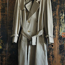 Burberry's Custom Tailored Yarmouth Trench  Photo