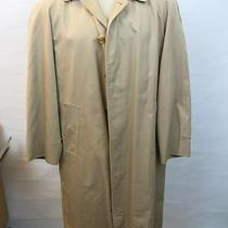 Burberry's Prorsum Vintage Beige Nova Trench Coach Wool Liner Rare 50 40r Photo