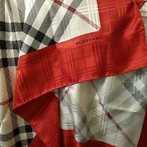 Burberry Scarf Silk Classy and Beautiful Photo