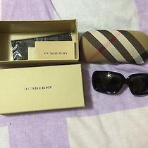 Burberry Sunglasses Black With Box Photo