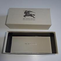 Burberry Sunglasses Box W/ Paperwork Photo