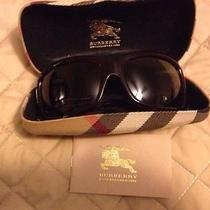 Burberry Sunglasses With Casepapers and Box Photo
