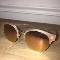 Burberry Sunglasses Woman Blush Pink Mirror Reflection Lenses Photo