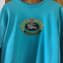 Burberry Sweatshirt Ladies Unisex Size Small .authentic. Photo