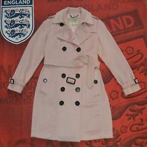 Burberry the Sandringham Womens Trench Coat Rose Size Us10/uk12/it44 M-L Mag Photo