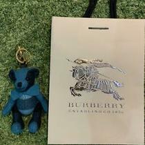 Burberry Thomas Bear Blue Green Bag Charm Key Ring Keychain Unused  Photo