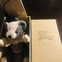 Burberry Thomas Bear Key Ring Bag Charm Plush Doll Figure Photo