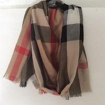 Burberry Trench Check Silk Satin Scarf 395.00 Photo