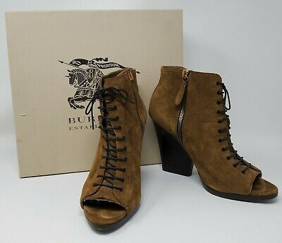 BURBERRY VIRGINIA BOOTIES Size: 38.5 Photo
