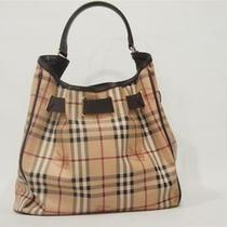 Burberry Walden Haymarket Check Hobo Shoulder Bag 1095 Photo