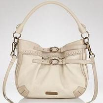 Burberry Waltham Antique White Woven Leather Crossbody Bag Handbag Nwt Photo