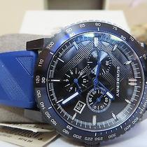 Burberry Watch Blue Rubber 795.00 Photo
