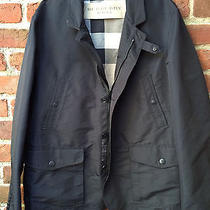 Burberry - Water-Resistant Coat / Jacket  / Blazer - Black - Mens Size Large Photo