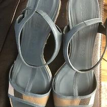 Burberry Wedge Sandals Photo