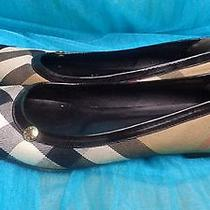 Burberry Women's  Ballet Flats - Slippers Size 38 Us 7.5 Photo