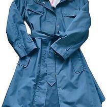 Burberry Women's Trench Coat - Black Size 4 Photo